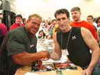 With the Champion, Jay Cutler