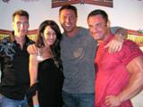 Me, Christian Boeving, his girlfriend and Dan Decker