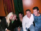 Peter Putnam, Flex Lewis, the girls and me in the VIP room