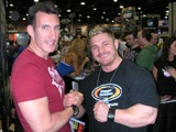 Me and Flex Lewis